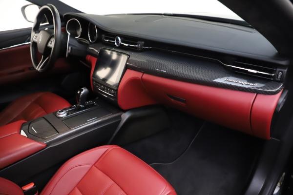 Used 2018 Maserati Quattroporte S Q4 GranSport for sale $67,900 at Pagani of Greenwich in Greenwich CT 06830 22