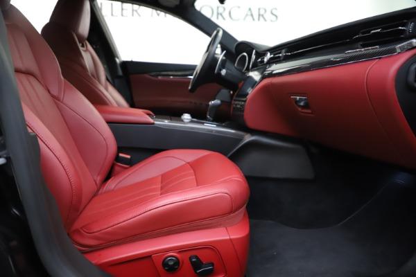 Used 2018 Maserati Quattroporte S Q4 GranSport for sale $67,900 at Pagani of Greenwich in Greenwich CT 06830 23