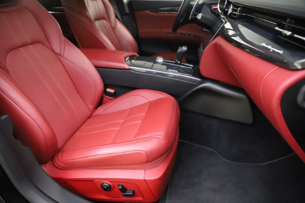 Used 2018 Maserati Quattroporte S Q4 GranSport for sale $67,900 at Pagani of Greenwich in Greenwich CT 06830 24