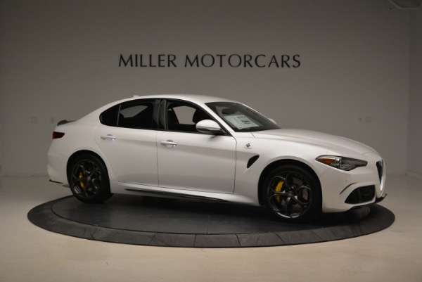 New 2018 Alfa Romeo Giulia Quadrifoglio for sale Sold at Pagani of Greenwich in Greenwich CT 06830 10