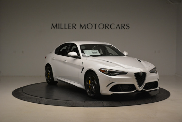 New 2018 Alfa Romeo Giulia Quadrifoglio for sale Sold at Pagani of Greenwich in Greenwich CT 06830 11