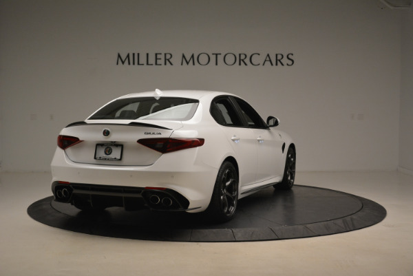 New 2018 Alfa Romeo Giulia Quadrifoglio for sale Sold at Pagani of Greenwich in Greenwich CT 06830 7