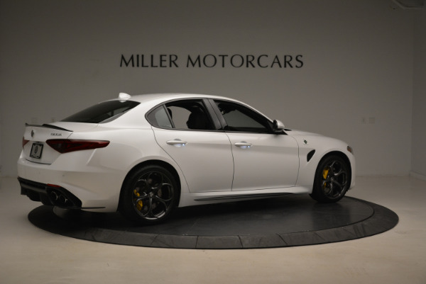 New 2018 Alfa Romeo Giulia Quadrifoglio for sale Sold at Pagani of Greenwich in Greenwich CT 06830 8