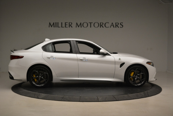New 2018 Alfa Romeo Giulia Quadrifoglio for sale Sold at Pagani of Greenwich in Greenwich CT 06830 9