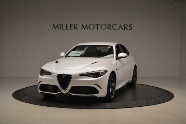 New 2018 Alfa Romeo Giulia Quadrifoglio for sale Sold at Pagani of Greenwich in Greenwich CT 06830 1