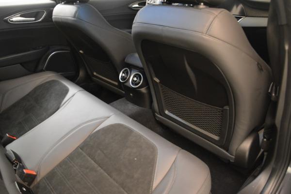 New 2018 Alfa Romeo Giulia Quadrifoglio for sale Sold at Pagani of Greenwich in Greenwich CT 06830 22