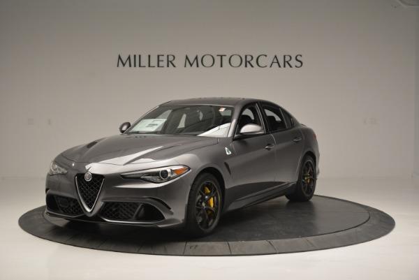 New 2018 Alfa Romeo Giulia Quadrifoglio for sale Sold at Pagani of Greenwich in Greenwich CT 06830 1
