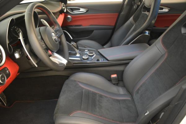 New 2018 Alfa Romeo Giulia Quadrifoglio for sale Sold at Pagani of Greenwich in Greenwich CT 06830 14