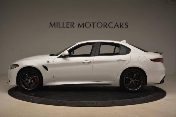New 2018 Alfa Romeo Giulia Quadrifoglio for sale Sold at Pagani of Greenwich in Greenwich CT 06830 3