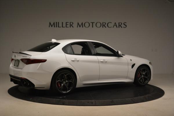 New 2018 Alfa Romeo Giulia Quadrifoglio for sale Sold at Pagani of Greenwich in Greenwich CT 06830 8
