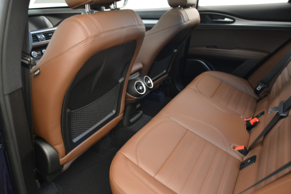 New 2018 Alfa Romeo Stelvio Ti Sport Q4 for sale Sold at Pagani of Greenwich in Greenwich CT 06830 16