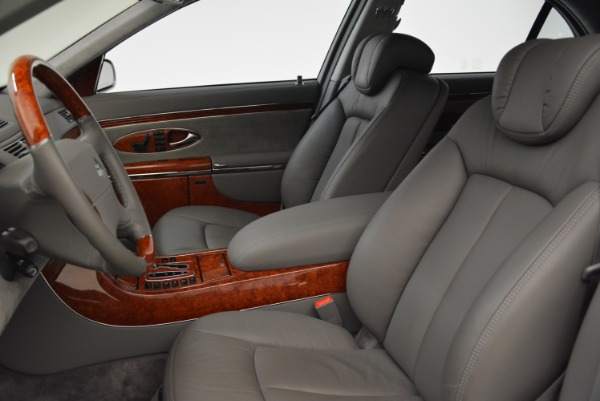 Used 2004 Maybach 57 for sale Sold at Pagani of Greenwich in Greenwich CT 06830 13