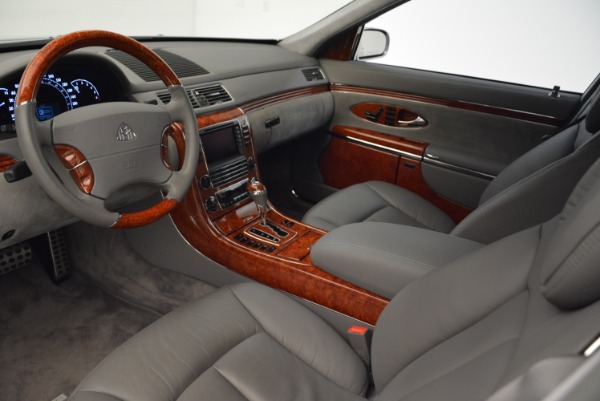 Used 2004 Maybach 57 for sale Sold at Pagani of Greenwich in Greenwich CT 06830 14
