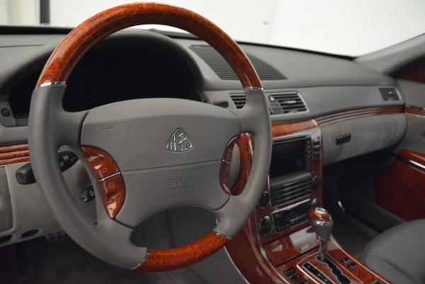 Used 2004 Maybach 57 for sale Sold at Pagani of Greenwich in Greenwich CT 06830 15