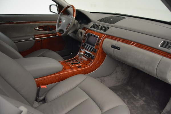 Used 2004 Maybach 57 for sale Sold at Pagani of Greenwich in Greenwich CT 06830 26