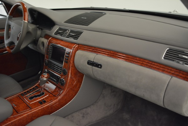Used 2004 Maybach 57 for sale Sold at Pagani of Greenwich in Greenwich CT 06830 28