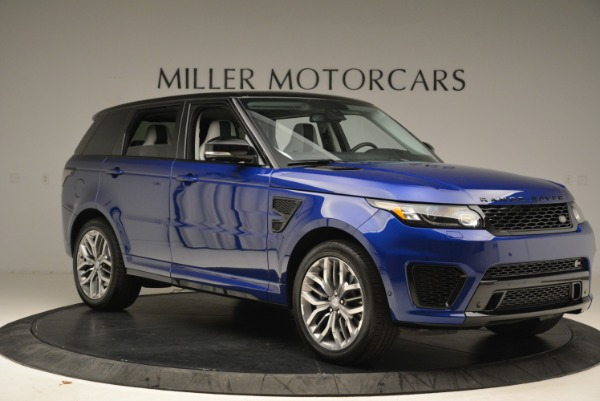 Used 2015 Land Rover Range Rover Sport SVR for sale Sold at Pagani of Greenwich in Greenwich CT 06830 10