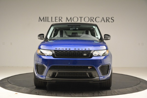 Used 2015 Land Rover Range Rover Sport SVR for sale Sold at Pagani of Greenwich in Greenwich CT 06830 12