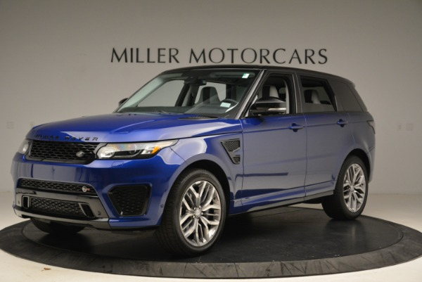 Used 2015 Land Rover Range Rover Sport SVR for sale Sold at Pagani of Greenwich in Greenwich CT 06830 2