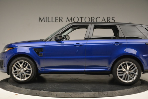 Used 2015 Land Rover Range Rover Sport SVR for sale Sold at Pagani of Greenwich in Greenwich CT 06830 3