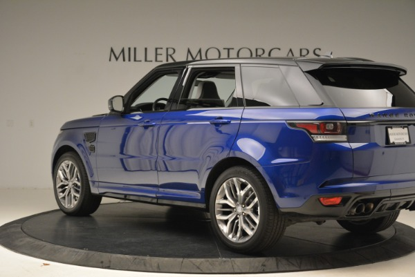 Used 2015 Land Rover Range Rover Sport SVR for sale Sold at Pagani of Greenwich in Greenwich CT 06830 4