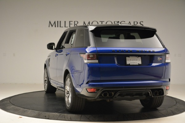 Used 2015 Land Rover Range Rover Sport SVR for sale Sold at Pagani of Greenwich in Greenwich CT 06830 5