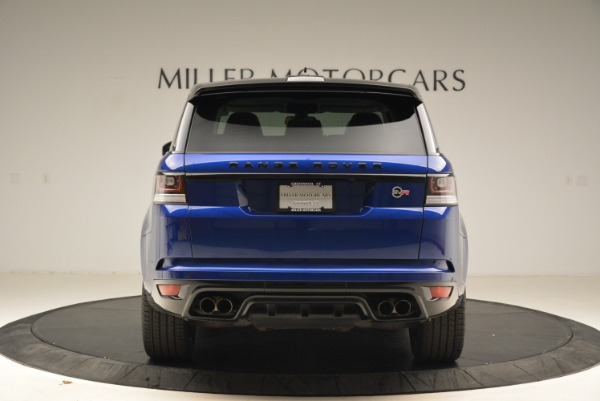 Used 2015 Land Rover Range Rover Sport SVR for sale Sold at Pagani of Greenwich in Greenwich CT 06830 6
