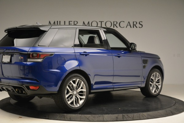 Used 2015 Land Rover Range Rover Sport SVR for sale Sold at Pagani of Greenwich in Greenwich CT 06830 8