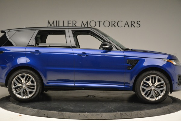 Used 2015 Land Rover Range Rover Sport SVR for sale Sold at Pagani of Greenwich in Greenwich CT 06830 9