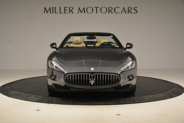 Used 2013 Maserati GranTurismo Convertible for sale Sold at Pagani of Greenwich in Greenwich CT 06830 12