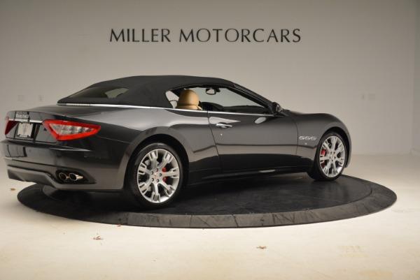 Used 2013 Maserati GranTurismo Convertible for sale Sold at Pagani of Greenwich in Greenwich CT 06830 20