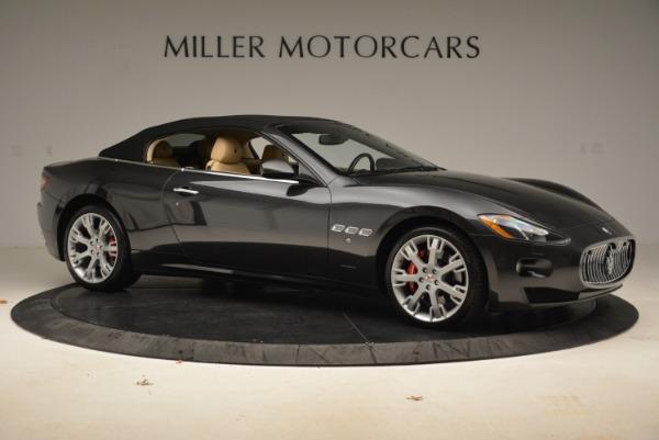 Used 2013 Maserati GranTurismo Convertible for sale Sold at Pagani of Greenwich in Greenwich CT 06830 22