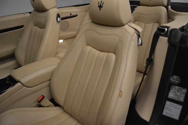 Used 2013 Maserati GranTurismo Convertible for sale Sold at Pagani of Greenwich in Greenwich CT 06830 27