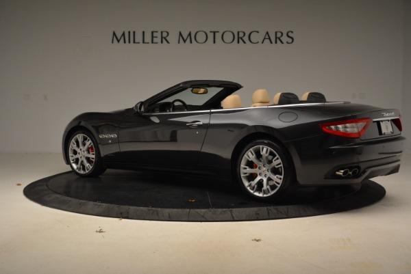 Used 2013 Maserati GranTurismo Convertible for sale Sold at Pagani of Greenwich in Greenwich CT 06830 4