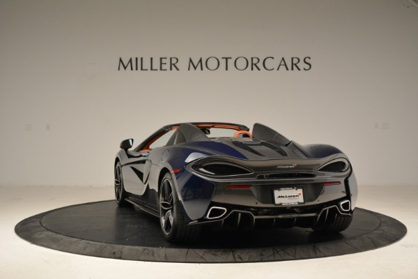 New 2018 McLaren 570S Spider for sale Sold at Pagani of Greenwich in Greenwich CT 06830 5