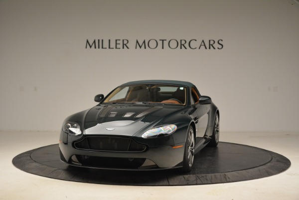 Used 2017 Aston Martin V12 Vantage S Roadster for sale Sold at Pagani of Greenwich in Greenwich CT 06830 13