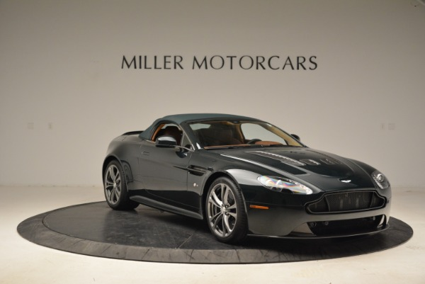 Used 2017 Aston Martin V12 Vantage S Roadster for sale Sold at Pagani of Greenwich in Greenwich CT 06830 18