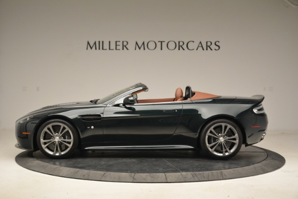 Used 2017 Aston Martin V12 Vantage S Roadster for sale Sold at Pagani of Greenwich in Greenwich CT 06830 3