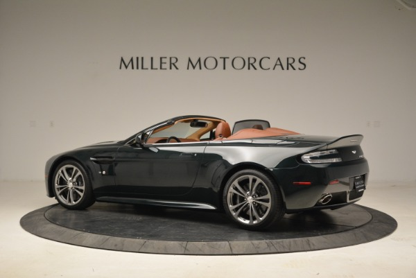 Used 2017 Aston Martin V12 Vantage S Roadster for sale Sold at Pagani of Greenwich in Greenwich CT 06830 4