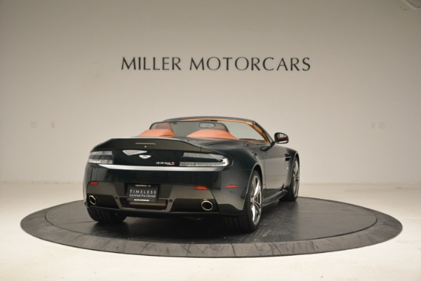 Used 2017 Aston Martin V12 Vantage S Roadster for sale Sold at Pagani of Greenwich in Greenwich CT 06830 7