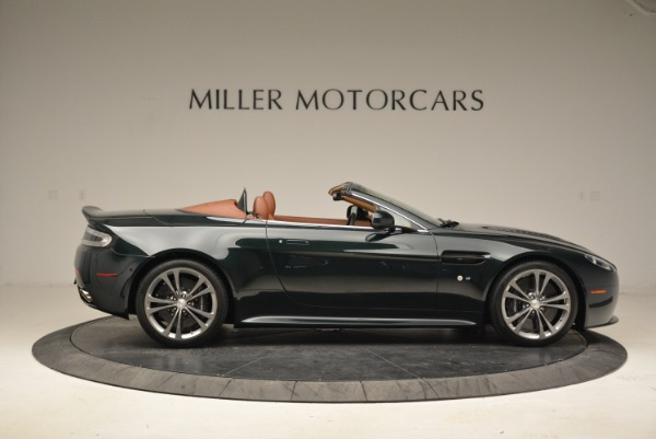 Used 2017 Aston Martin V12 Vantage S Roadster for sale Sold at Pagani of Greenwich in Greenwich CT 06830 9