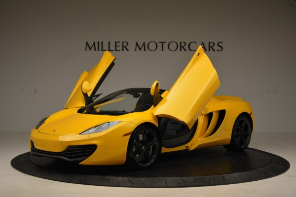 Used 2014 McLaren MP4-12C Spider for sale Sold at Pagani of Greenwich in Greenwich CT 06830 14