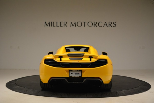 Used 2014 McLaren MP4-12C Spider for sale Sold at Pagani of Greenwich in Greenwich CT 06830 18