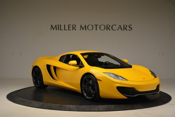 Used 2014 McLaren MP4-12C Spider for sale Sold at Pagani of Greenwich in Greenwich CT 06830 21