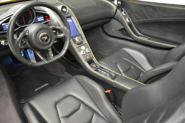 Used 2014 McLaren MP4-12C Spider for sale Sold at Pagani of Greenwich in Greenwich CT 06830 25