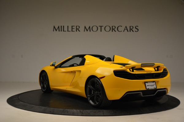 Used 2014 McLaren MP4-12C Spider for sale Sold at Pagani of Greenwich in Greenwich CT 06830 5
