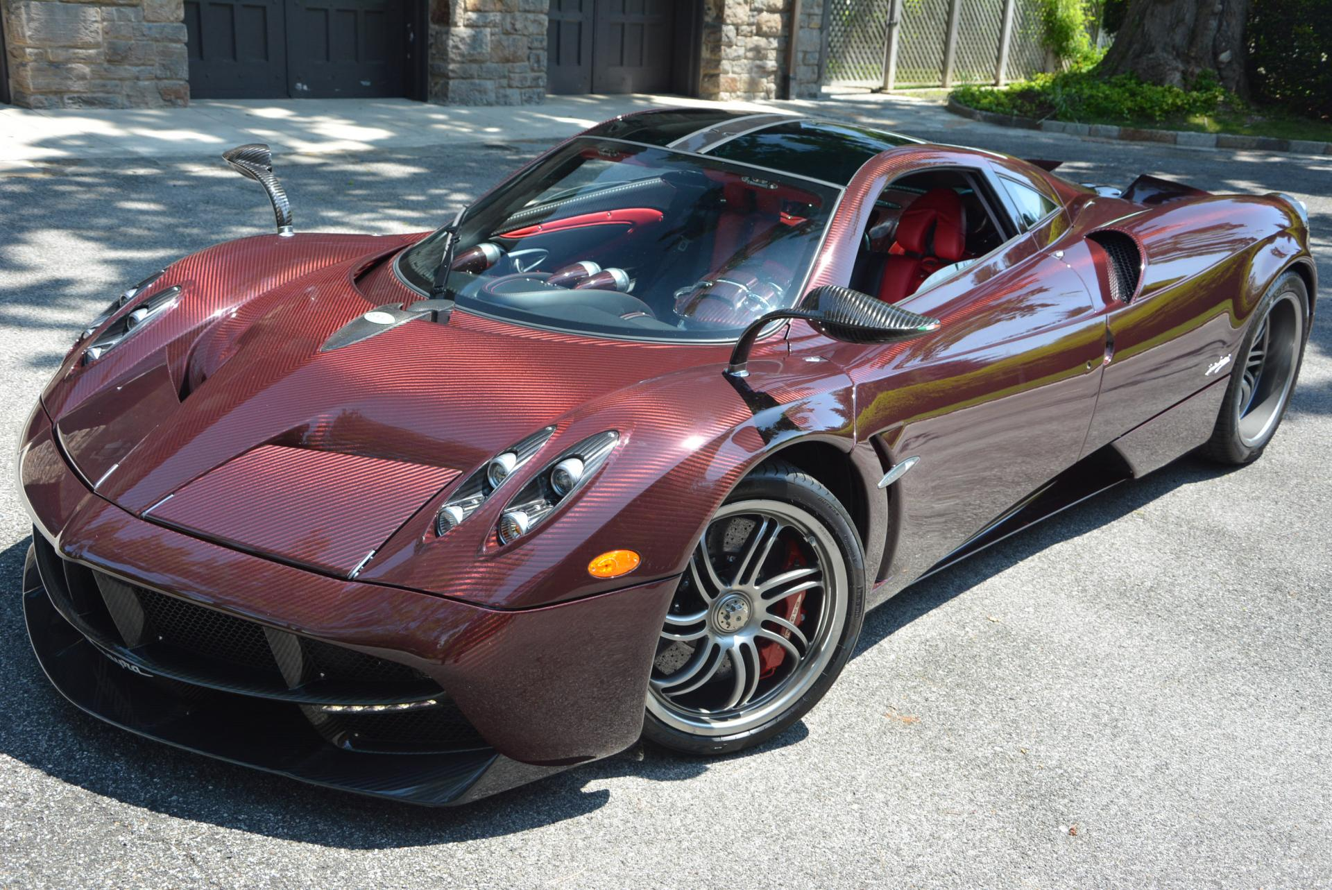 Used 2014 Pagani Huayra for sale Sold at Pagani of Greenwich in Greenwich CT 06830 1