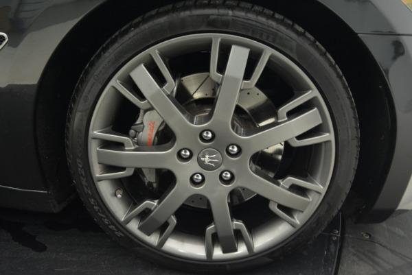 Used 2014 Maserati GranTurismo Sport for sale Sold at Pagani of Greenwich in Greenwich CT 06830 24