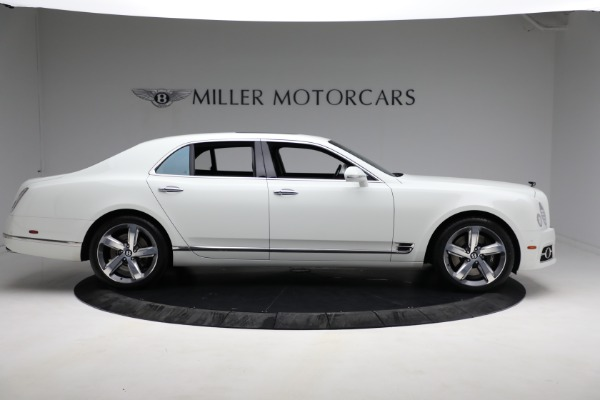 Used 2018 Bentley Mulsanne Speed for sale Sold at Pagani of Greenwich in Greenwich CT 06830 8