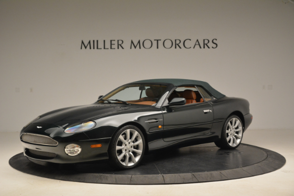 Used 2003 Aston Martin DB7 Vantage Volante for sale Sold at Pagani of Greenwich in Greenwich CT 06830 14